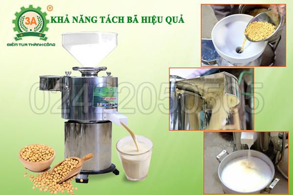 Máy làm sữa đậu nành công nghiệp 3A1,5Kw (06)