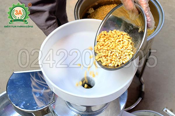 Máy làm sữa đậu nành công nghiệp 3A1,5Kw (07)