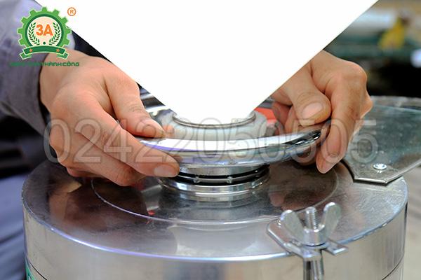 Máy làm sữa đậu nành công nghiệp 3A1,5Kw (12)
