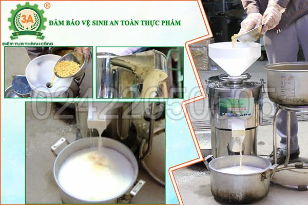 Máy làm sữa đậu nành công nghiệp 3A1,5Kw (13)