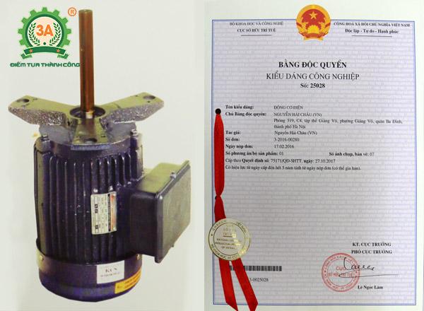Chế tạo máy nông nghiệp: Động cơ điện 3A