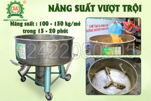 Máy trộn bột đa năng 3A3,5Kw (05)