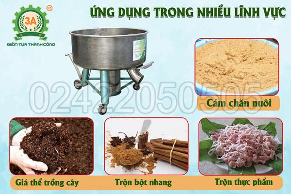Máy trộn bột đa năng 3A3,5Kw (10)