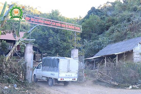 Bàn giao dây chuyền máy ép cám viên 3A tại Mường Toong (01)