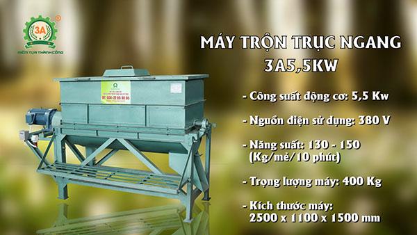 Bàn giao dây chuyền máy ép cám viên 3A tại Mường Toong (04)