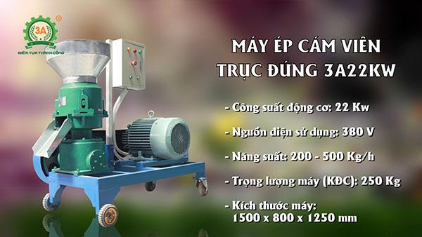 Bàn giao dây chuyền máy ép cám viên 3A tại Mường Toong (06)