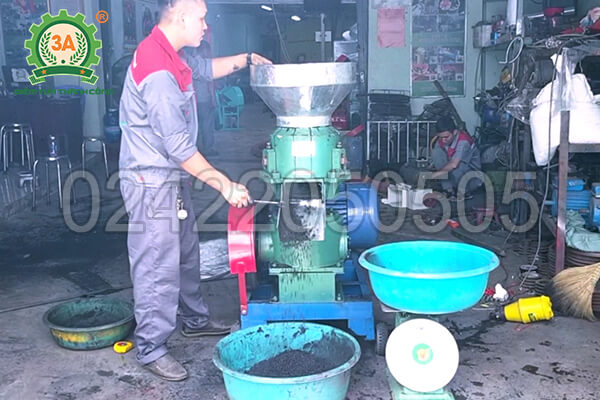máy ép than hoạt tính dạng viên