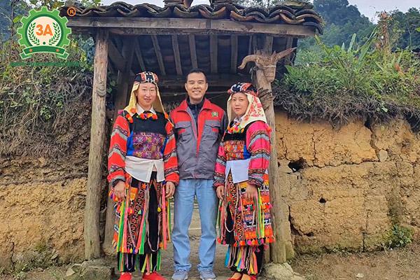 Nhà sáng chế máy nông nghiệp Nguyễn Hải Châu về với bà con Hà GIang (01)
