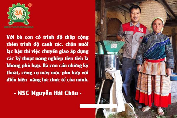 Nhà sáng chế máy nông nghiệp Nguyễn Hải Châu về với bà con Hà GIang (04)