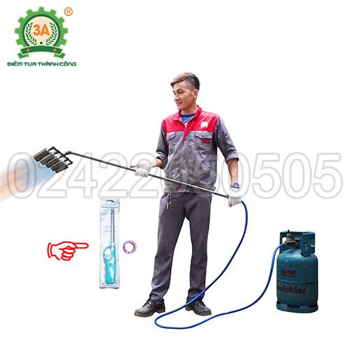 Đầu khò gas công nghiệp 3A 5 đầu khò (04)