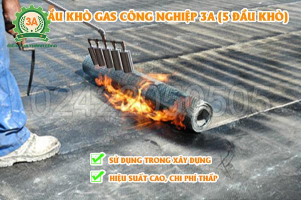 Đầu khò gas công nghiệp 3A 5 đầu khò (13)