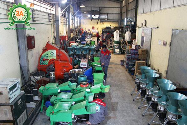 Xưởng sản xuất máy nông nghiệp 3A của Công ty CPĐT Tuấn Tú
