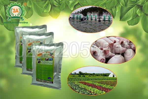 Chế phẩm EM gốc dạng bột được giới thiệu tại hội thảo máy nông nghiệp 3A