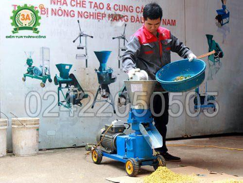 Máy nông nghiệp 3A tại Thanh Hóa: Máy ép cám viên 3A3Kw M3
