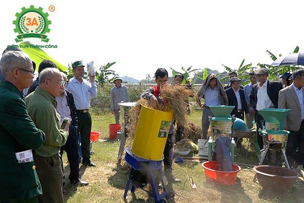 Máy nông nghiệp 3A tại Thanh Hóa: Máy băm rơm, xơ dừa 3A3kW