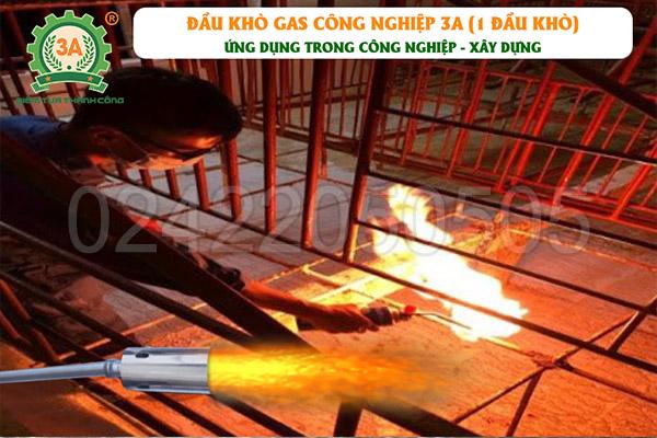 Đầu khò gas công nghiệp 3A 1 đầu khò (06)