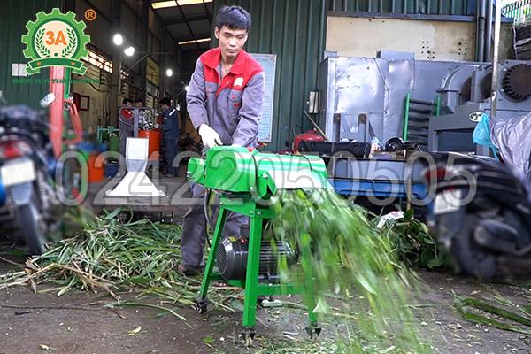 Máy băm cỏ, cây ngô 3A2,2kW có băng tải (06)