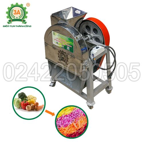Máy bào sợi rau củ thông minh inox 3A1,5kW (01)