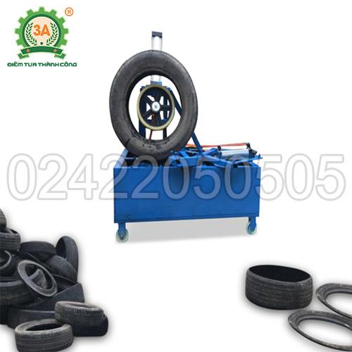 Máy cắt lốp cao su tái chế 3A3kW (01)