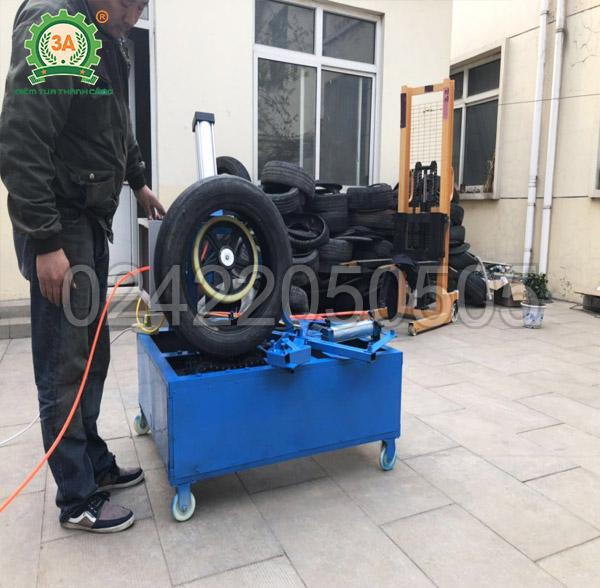 Máy cắt lốp cao su tái chế 3A3kW (07)