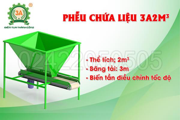 dây chuyền sản xuất phân hữu cơ 3A (06)