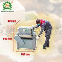 Máy trộn bột khô nằm ngang 3A1,1KW (03)