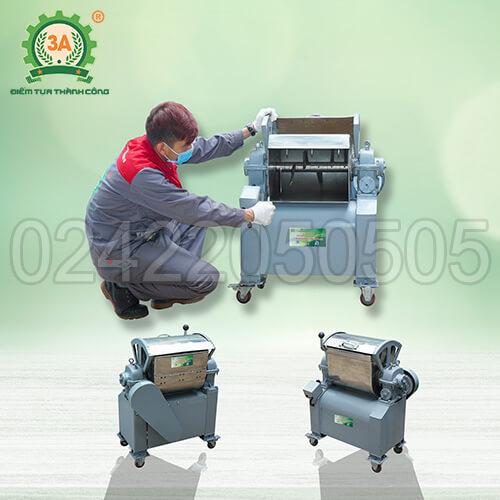 Máy trộn nguyên liệu inox 3A1,5kW (04)