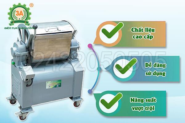Máy trộn nguyên liệu inox 3A1,5kW (08)