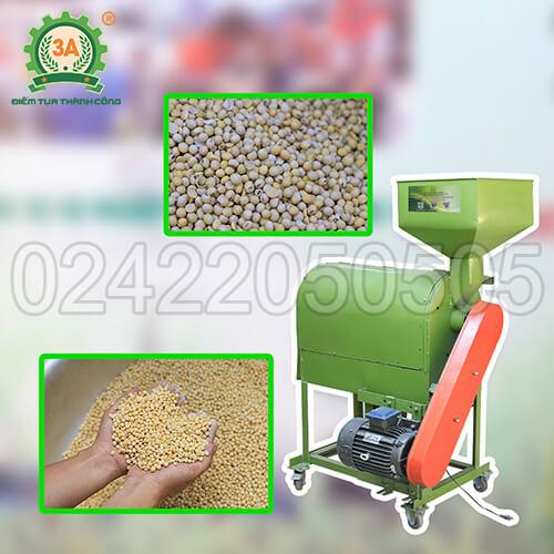 Máy tách vỏ đậu nành khô 3A4kW (01)