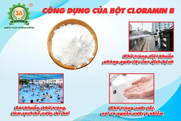 Công dụng của bột cloramin B