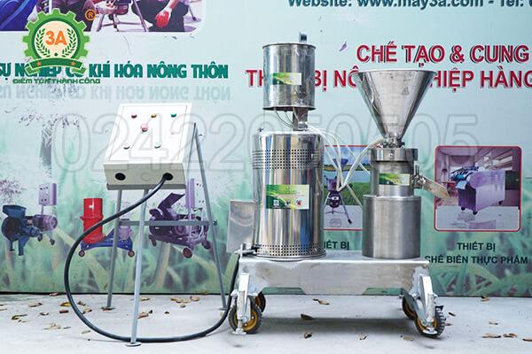 Máy xay thịt làm giò công nghiệp 3A11KW siêu mịn (11)