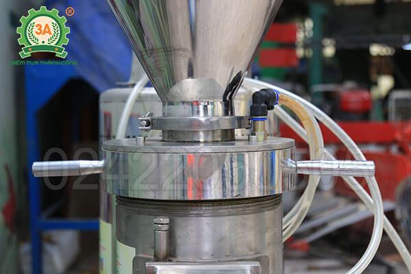 Máy xay thịt làm giò công nghiệp 3A11KW siêu mịn (14)